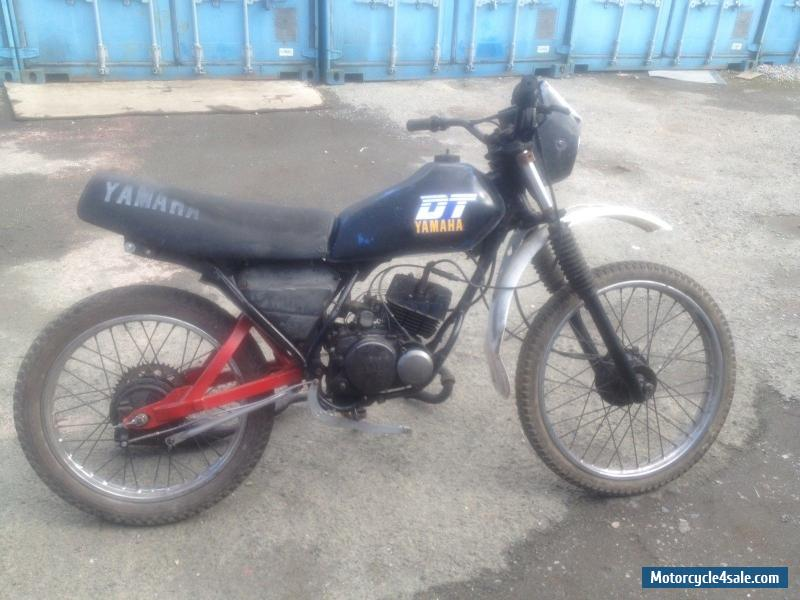1989 yamaha dt mx for sale in united kingdom for Yamaha mx 80 for sale