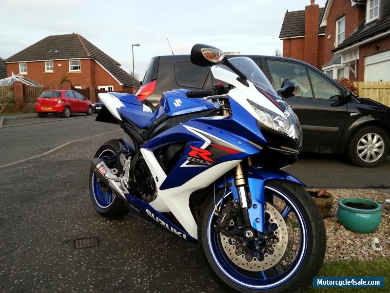 2009 Suzuki Gsxr 600 K8 For Sale In United Kingdom