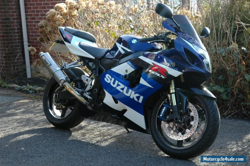 2004 suzuki gsxr 750 for sale in united kingdom. Black Bedroom Furniture Sets. Home Design Ideas