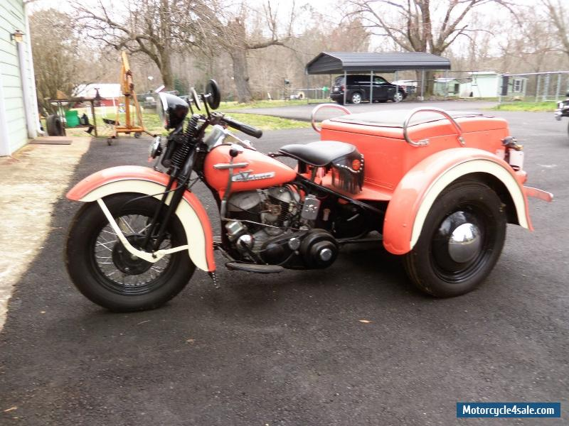1956 Harley Davidson G Model 45 Servi Car For Sale In Canada