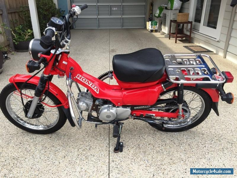 Honda ct 110 for sale in australia for Honda in ct