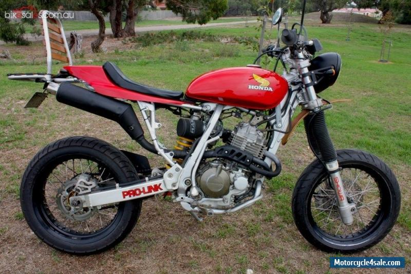 cafe racer naked motard honda xr400 for sale in australia. Black Bedroom Furniture Sets. Home Design Ideas