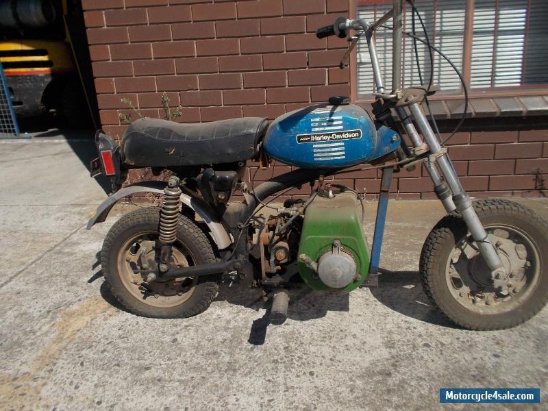 harley davidson mini bike for sale in australia. Black Bedroom Furniture Sets. Home Design Ideas