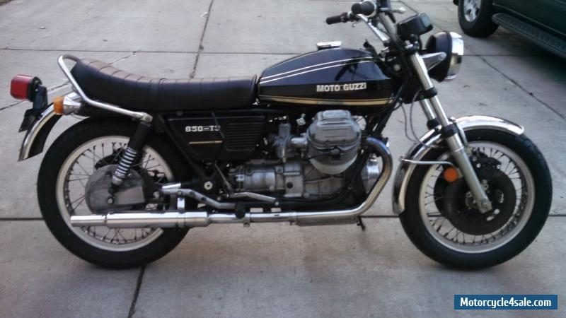 1976 moto guzzi 850 t3 for sale in canada. Black Bedroom Furniture Sets. Home Design Ideas
