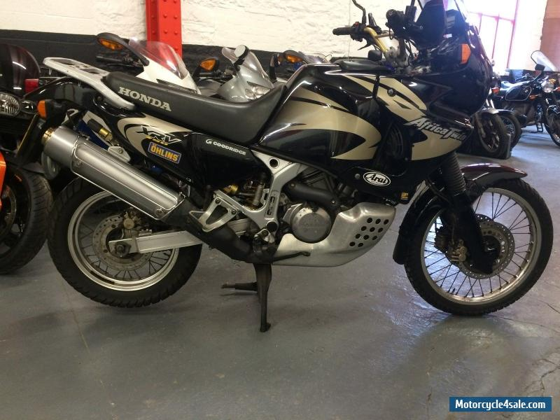 2000 honda xrv750 africa twin for sale in united kingdom. Black Bedroom Furniture Sets. Home Design Ideas