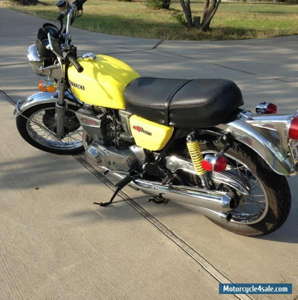 1974 suzuki gt 550 for sale in canada. Black Bedroom Furniture Sets. Home Design Ideas