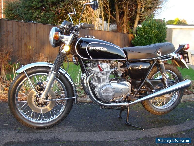 1975 honda cb500 four for sale in united kingdom. Black Bedroom Furniture Sets. Home Design Ideas