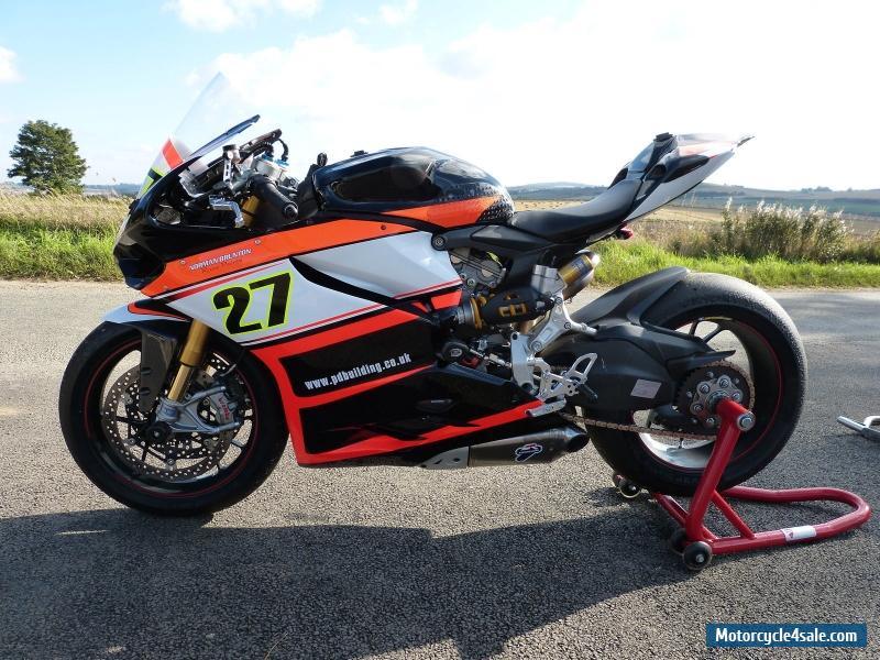 Ducati Panigale Race Bike For Sale