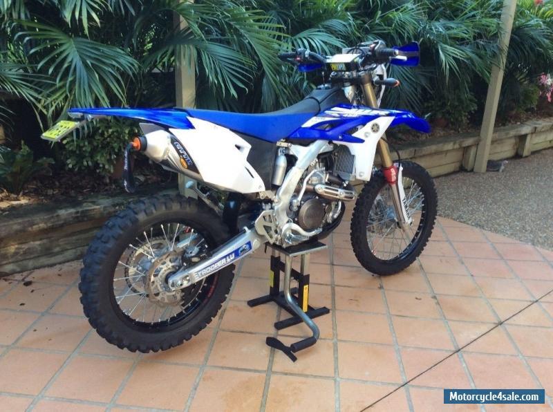 Yamaha Wr F on Yamaha Wr450f Supermoto