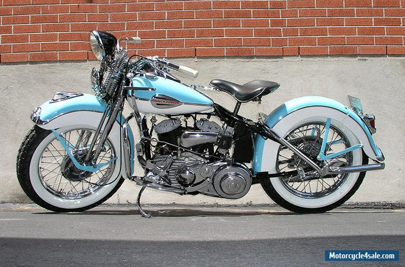 1942 Harley-davidson Flathead for Sale in United States