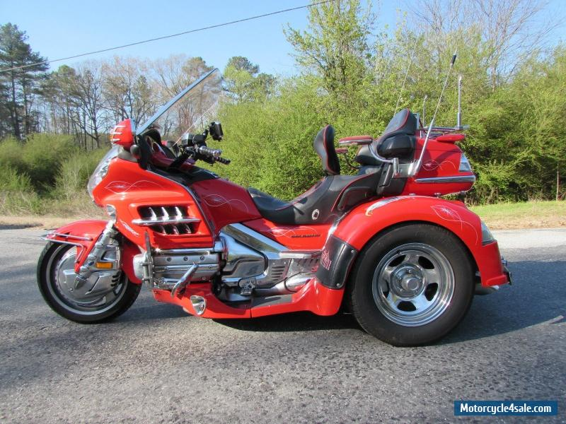 2004 honda gold wing for sale in united states for Motor trike troup texas