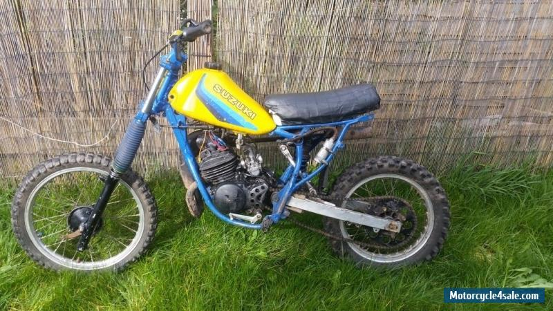 1983 Suzuki Rm 80 For Sale In United Kingdom