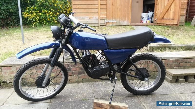 Yamaha dt175 mx classic unfinished restoration project for sale