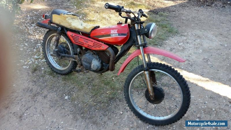 Yamaha mx100 for sale in australia for Yamaha mx 80 for sale