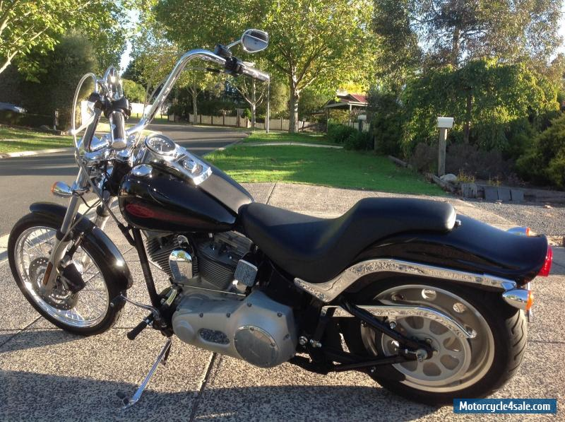 harley davidson fxst softail for sale in australia. Black Bedroom Furniture Sets. Home Design Ideas