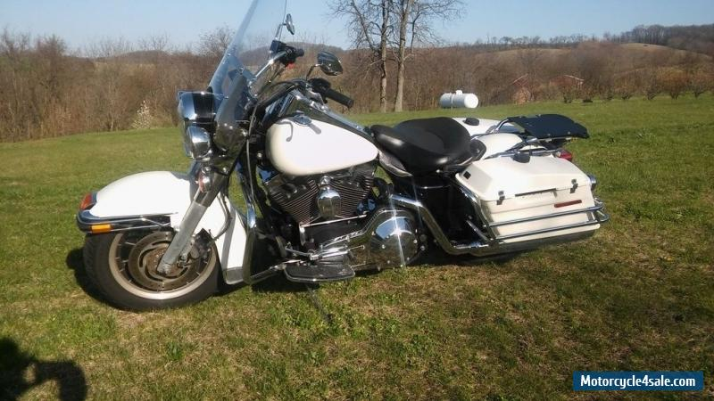 2005 harley davidson flhpi road king police pkg for sale in canada. Black Bedroom Furniture Sets. Home Design Ideas