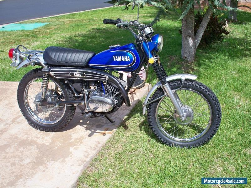 1973 Yamaha At 125 Cc For Sale In Canada