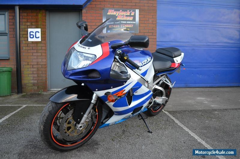 2000 Suzuki GSX-R750Y for Sale in United Kingdom