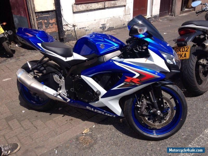 2008 suzuki gsxr 750 k8 for sale in united kingdom. Black Bedroom Furniture Sets. Home Design Ideas