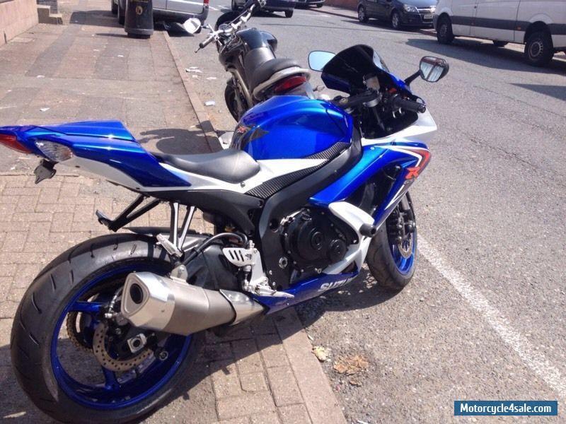 Used Suzuki Motorcycles >> 2008 Suzuki GSXR 750 K8 for Sale in United Kingdom