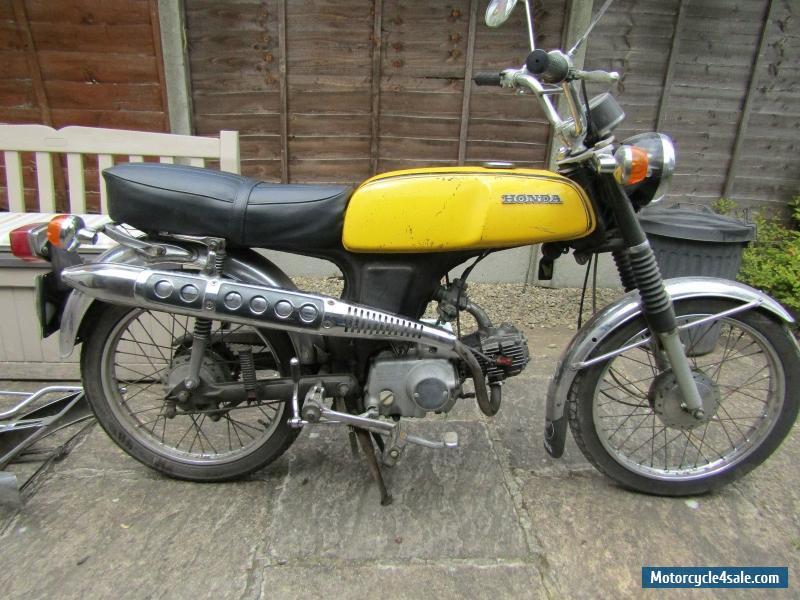 1975 Honda SS50 for Sale in United Kingdom