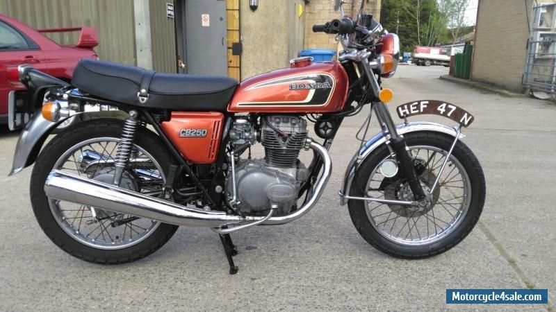 1975 honda cb 250 g5 for sale in united kingdom. Black Bedroom Furniture Sets. Home Design Ideas