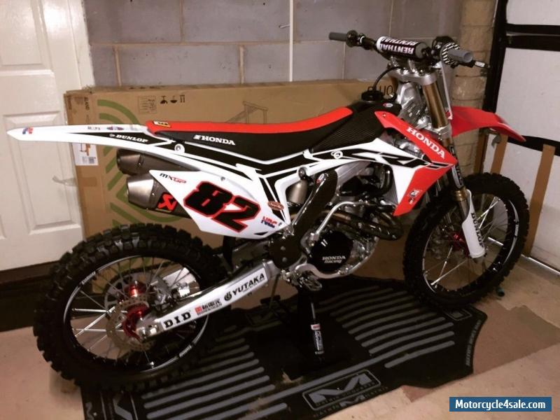 2015 honda crf for sale in united kingdom
