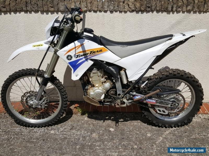 2008 yamaha wr 250 r for sale in united kingdom for Yamaha 250 scrambler for sale