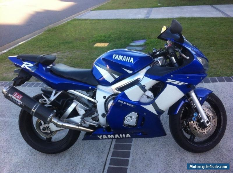 2002 yamaha yzf r6 for sale in australia