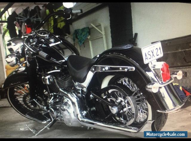 harley davidson softail deluxe flstn 2011 for sale in australia. Black Bedroom Furniture Sets. Home Design Ideas