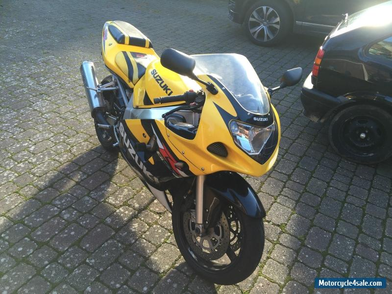 2001 suzuki gsx r600 k1 for sale in united kingdom. Black Bedroom Furniture Sets. Home Design Ideas