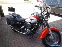 Kawasaki VN800 Classic Red