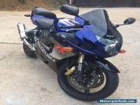 2005 SUZUKI GSXR 600 K5 BLUE / WHITE WITH 750 ENGINE FITTED