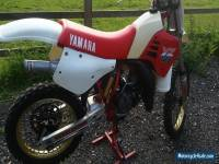 1986 Yamaha YZ125  California import just in  super evo twinshock mugen LOP FOX