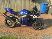 2003 YAMAHA R6 BLUE  NO EXPENSE SPARED, PX Swap WHY car only
