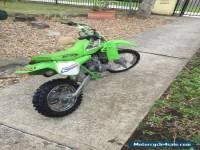 motorcycle Kawasaki KX60