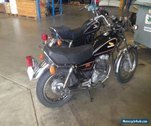 Honda CM250 Custom Bike in great Original Condition Running and Registered in WA for Sale