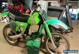 KAWASAKI KX 125  1980 for Sale