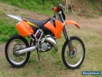 02 dirt bike KTM sx 125
