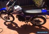 Yamaha xt 250 very low km's Great condition for Sale