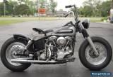 1958 Harley-Davidson PANHEAD for Sale