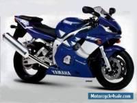 2001 Yamaha yzf 600 r6