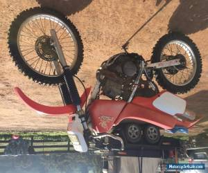 Motorbike  Honda XR250 Moto Motorbike Trail Victoria 3717 for Sale