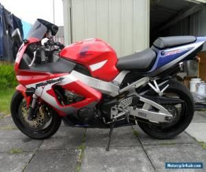 Honda fireblade cbr 900 rr   2001     cat c for Sale