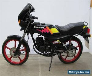 KAWASAKI AR50 (460 miles from new) for Sale