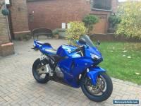 2006 HONDA CBR 600 RR-5 BLUE