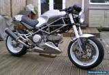 Ducati Monster Cafe Racer,600cc,Subtle Unique build,one off paint,head turner for Sale