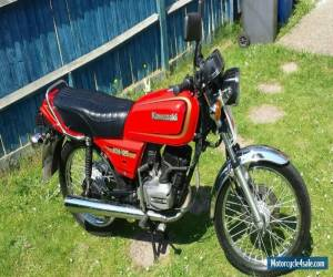 1987 KAWASAKI KH125-K5 RED motorbike 2 stroke learner legal ready to ride c pics for Sale