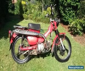 2007 Honda CT 110 Postie Bike for Sale