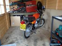 HONDA  CB125J ORANGE